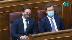 Abascal asegura que Sánchez preside