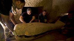 Rare découverte de cercueils de plus de 2500 ans en