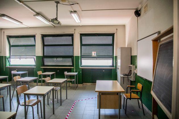 01/09/2020 Roma, Scuola: La Sindaca di Roma visita il Liceo Classico Augusto, dove è stata effettuata...