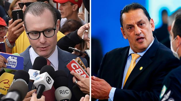 Cristiano Zanin, advogado de Lula, e Frederico Wassef, ex-advogado de