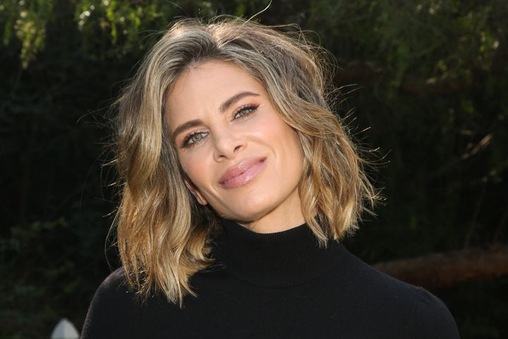 Jillian Michaels, pictured in January, believes she contracted COVID-19 from a friend.