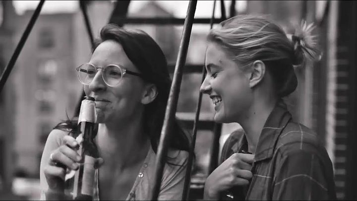 """A scene from """"Frances Ha,"""" which is on Netflix until the end of September."""