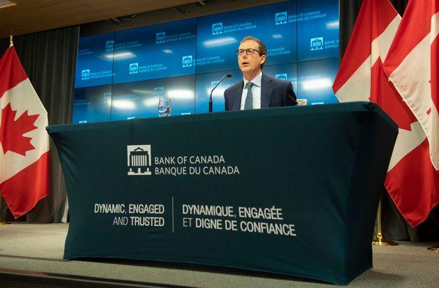 Le gouverneur de la Banque du Canada, Tiff Macklem. (photo