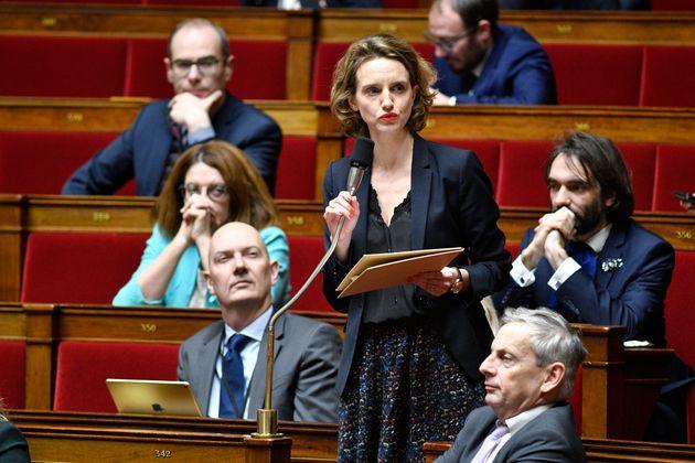 Céline Calvez, députée LREM des Hauts-de-Seine, remet son rapport sur la place des femmes dans les