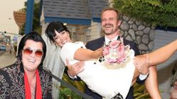 David Harbour, Lily Allen Tie The Knot In Elvis-Officiated Vegas