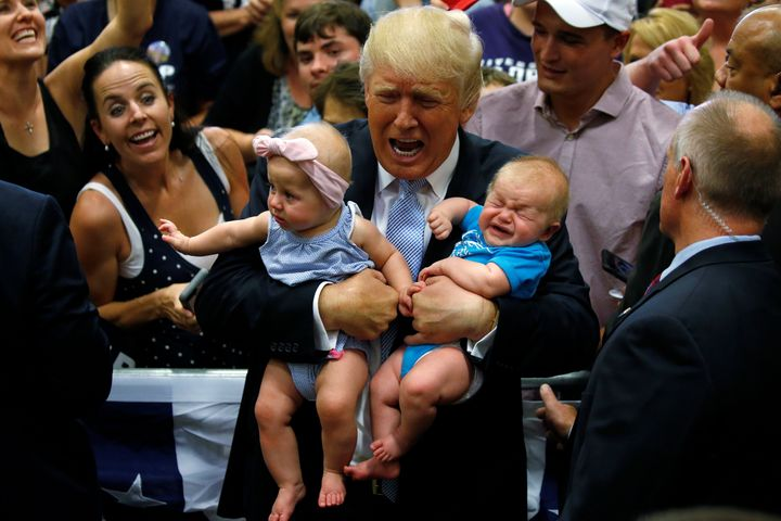 The name Donald fell 27 places in the annual ranking of most popular baby names.