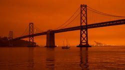 「サンフランシスコは今、火星のようだ」。カリフォルニア州の山火事で一変した街の風景が衝撃的【動画・画像】