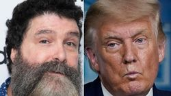 Pro Wrestling Icon Mick Foley Has One Scathing Question For Trump