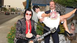 Lily Allen's Amazing Wedding To David Harbour Couldn't Be More Vegas If It
