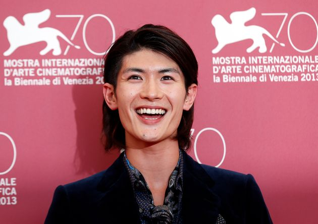 ベネチア国際映画祭で、三浦春馬さん(2013年撮影)