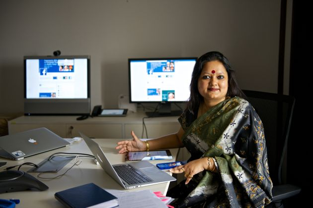 Ankhi Das, Public Policy Director, Facebook India and South & Central Asia, during an interview at...