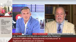El corte de Joaquín Prat al presidente de la Fundación Franco tras una alusión directa a su
