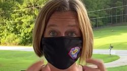 El truco viral de una profesora para que la mascarilla no resulte incómoda al