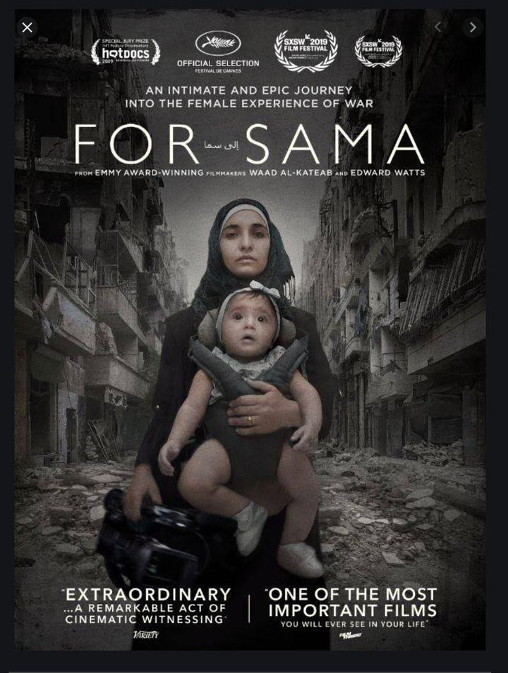 Waad al-Kateab's award-winning documentary, For Sama.