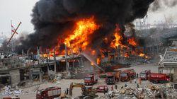 Un énorme incendie au port de Beyrouth quelques semaines après
