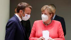 Une initiative Merkel/Macron pour accueillir des migrants mineurs après l'incendie de