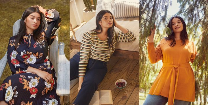 Walmart and ELOQUII unveiled a new collection of plus-size clothes ranging in sizes 14 to 28.