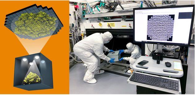 Les scientifiques de Stanford ont assemblé 189 capteurs de 16 mégapixels