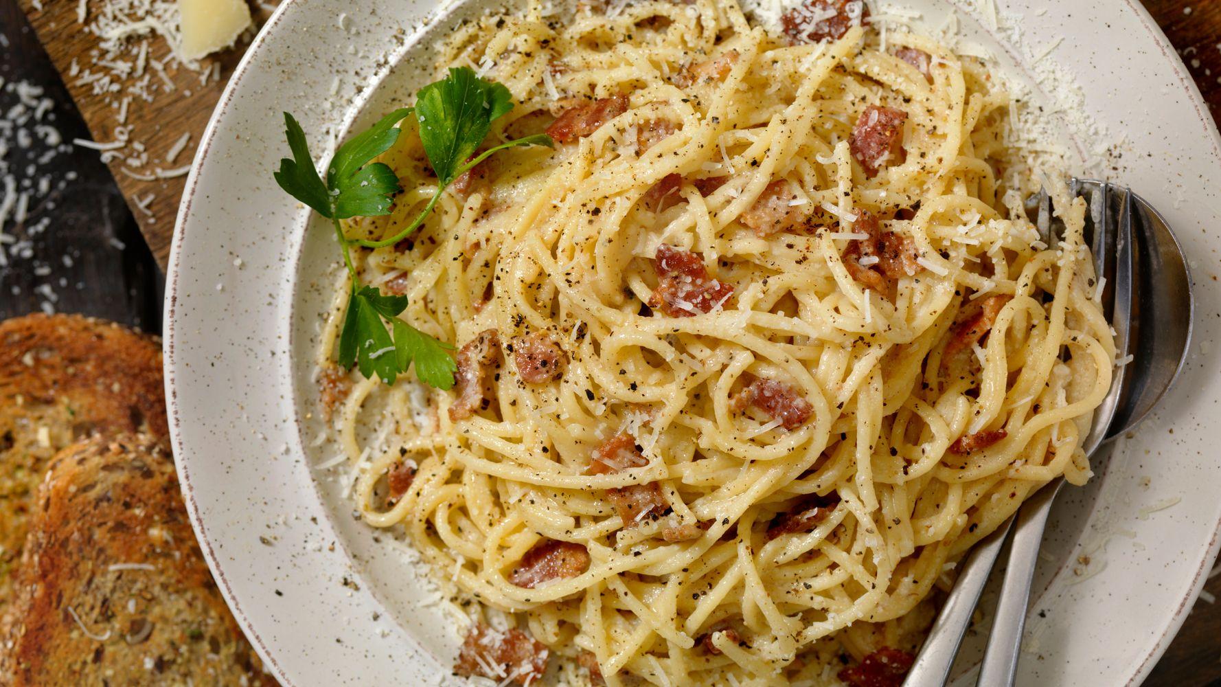 Try This Tasty 10-Minute Carbonara Recipe From Gordon Ramsay