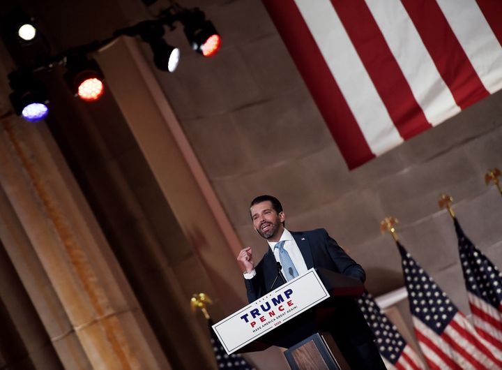 """Donald Trump Jr. pressed the case against """"cancel culture"""" in his speech last month at the Republican National Convention. A HuffPost/YouGov poll finds he has work to do to get his message across."""