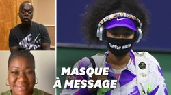 Naomi Osaka émue par les messages de parents de victimes de crimes