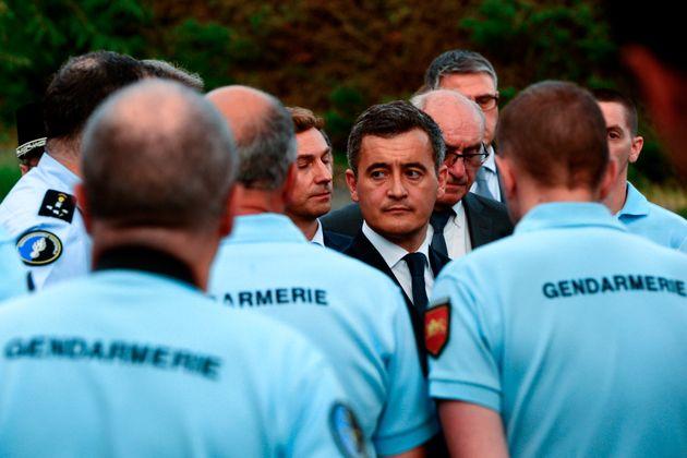 Gérald Darmanin (ici lors de l'hommage à Mélanie Lemée le 7 juillet 2020),...