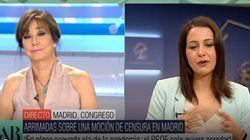 Inés Arrimadas sorprende con un comentario sobre su vida privada en plena entrevista con Ana