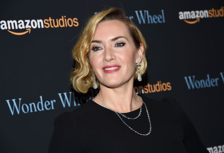 "Kate Winslet attends a screening of Woody Allen's ""Wonder Wheel"" in 2017."