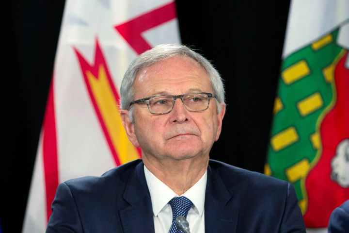 New Brunswick Premier Blaine Higgs during a meeting with Canada's provincial premiers in Toronto on Dec. 2, 2019.
