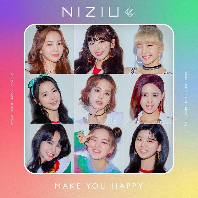 (左上から時計回りに)アヤカ、ミイヒ、マユカ、リマ、リク、リオ、ニナ、マヤ(中央)マコ