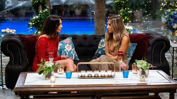 The Bachelor Australia's Bella Varelis and Irena Srbinovksa