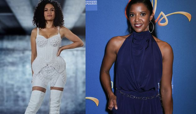 The Voice star Akina Maria Edmonds (left) would make an excellent Angelica Schuyler, played by Renée...