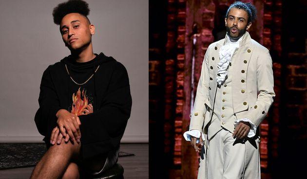 Sydney rapper JamarzOnMarz (left) is our fantasy pick to play Marquis de Lafayette/Thomas Jefferson,...