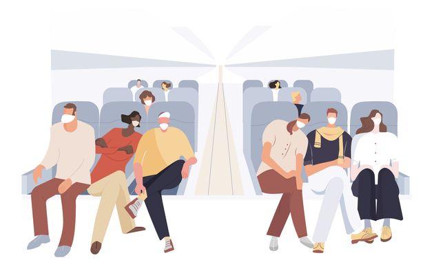 飛行機内でマスク着用しないとどうなる?JALやANAにルールを聞いてみた。