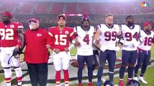 NFL Fans Appear To Boo 'Moment Of Unity' During Chiefs-Texans Game