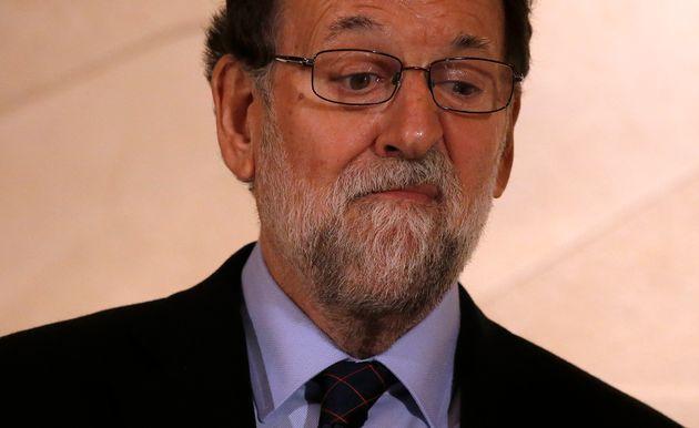 Mariano Rajoy, en las instalaciones de Freixenet de Sant Sadurni d'Anoia, el 13 de diciembre de