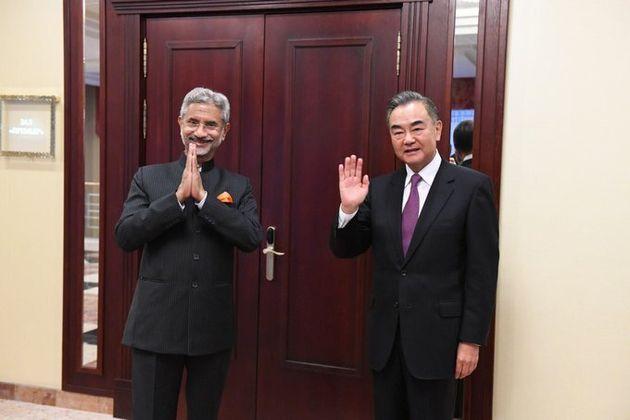 External Affairs Minister S Jaishankar with his Chinese counterpart Wang