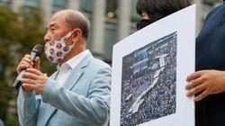 광복절 집회 참가자들이 경찰을 감염병법 위반으로 고발했다