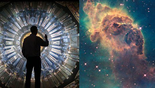 우주는 볼 수도 만질 수도 느낄 수도 없는 '이 물질'로 가득 차 있지만, 아직 관측된 적이