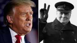Trump Gets Stark History Lesson After Comparing Covid-19 Response To Churchill In