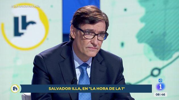 Salvador Illa, en 'La Hora de la
