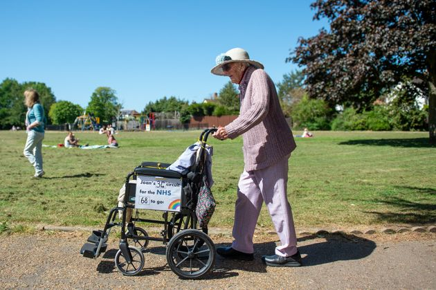 102-Year-Old Nurse To Complete 102nd Charity Walk On Her Birthday