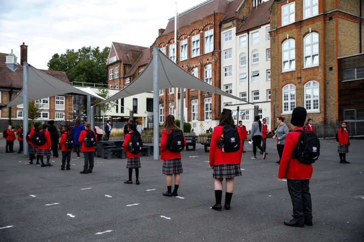 Thousands of pupils across the country have already been forced to self-isolate after positive cases of Covid-19 were identified amongst their peers or teachers.