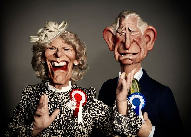 It wouldn't be Spitting Image without a bit of royal fun, would it?