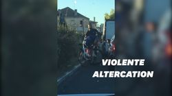 Lors d'une sortie à vélo, cette triathlète a été frappée par un