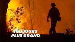 Incendies aux États-Unis: 500.000 personnes évacuées dans
