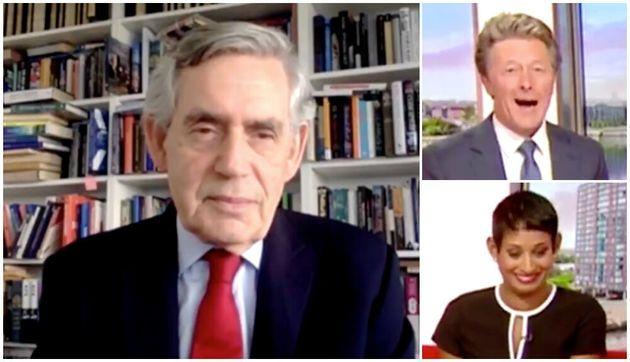 Gordon Brown's stunned BBC Breakfast presenters Naga Munchetty and Charlie