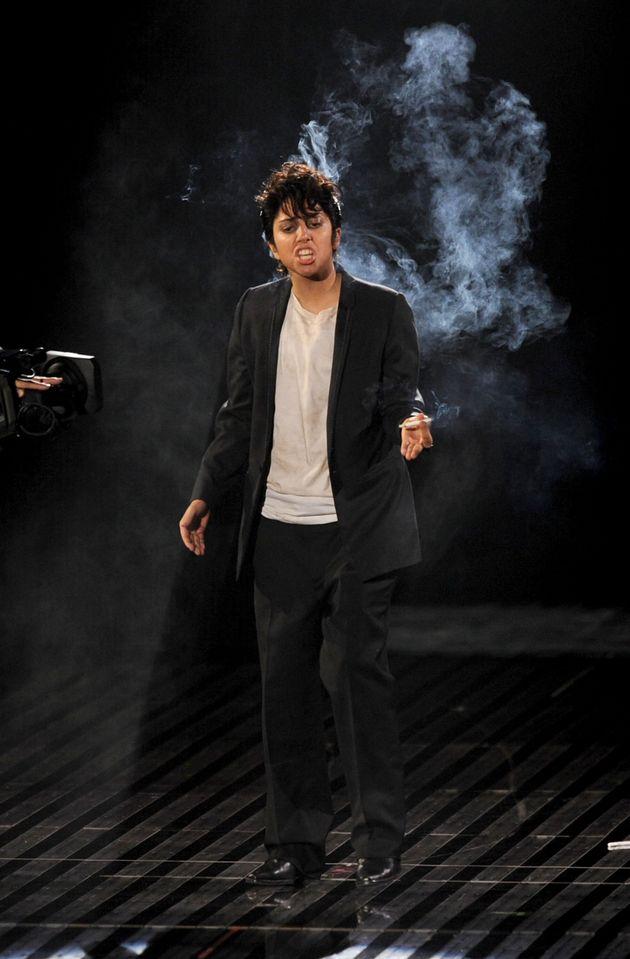 Lady Gaga as Jo Calderone at the 2011 VMAs