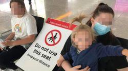 Mamma bloccata in aeroporto con tre figli piccoli: