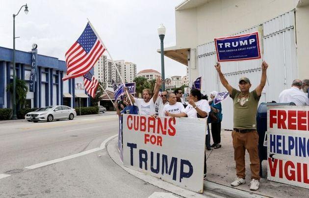 Trump perdió el voto de los latinoamericanos de Florida en 2016, pero contó con el apoyo...
